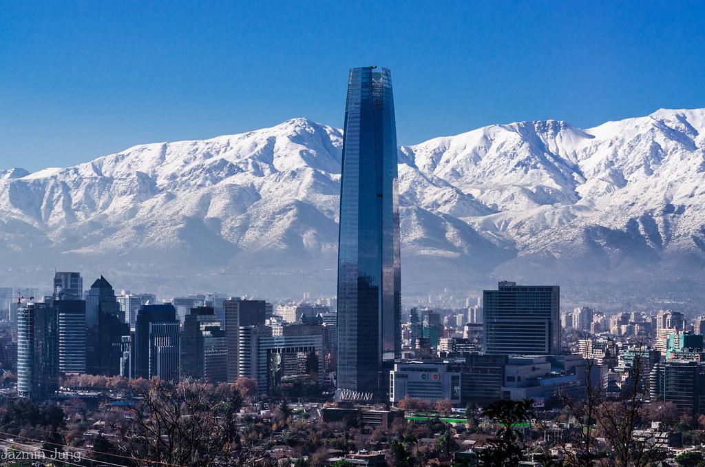 Image result for santiago chile skyline