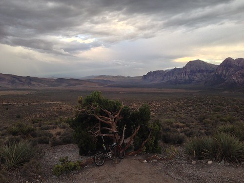 Fixie Friday at the High overlook in Red Rock Canyon | by Target Salad