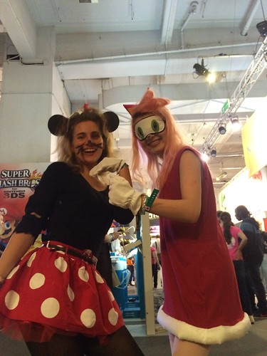 Amy Rose and Zombie Minnie at #EGX14 | by paul_kercal
