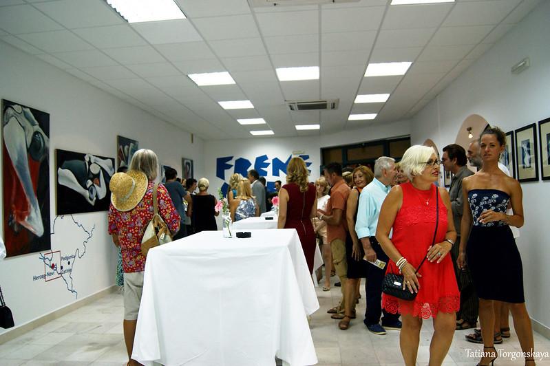 """Открытие выставки в галерее """"Novi to sam ja"""", Херцег Нови"""