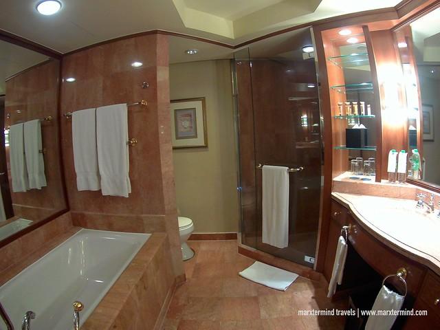 Spacious Bathroom at Sheraton Imperial Kuala Lumpur Hotel