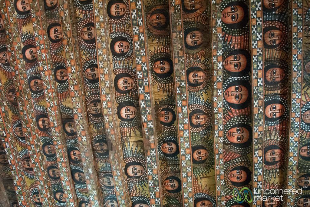 angel faces on ceiling of debre birhan selassie church g flickr
