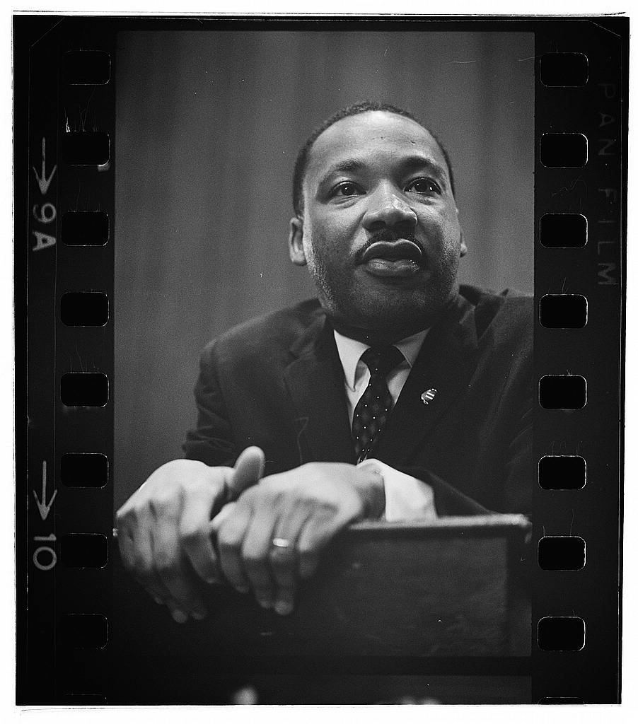 Martin Luther King Press Conference Loc Trikosko Marion Flickr