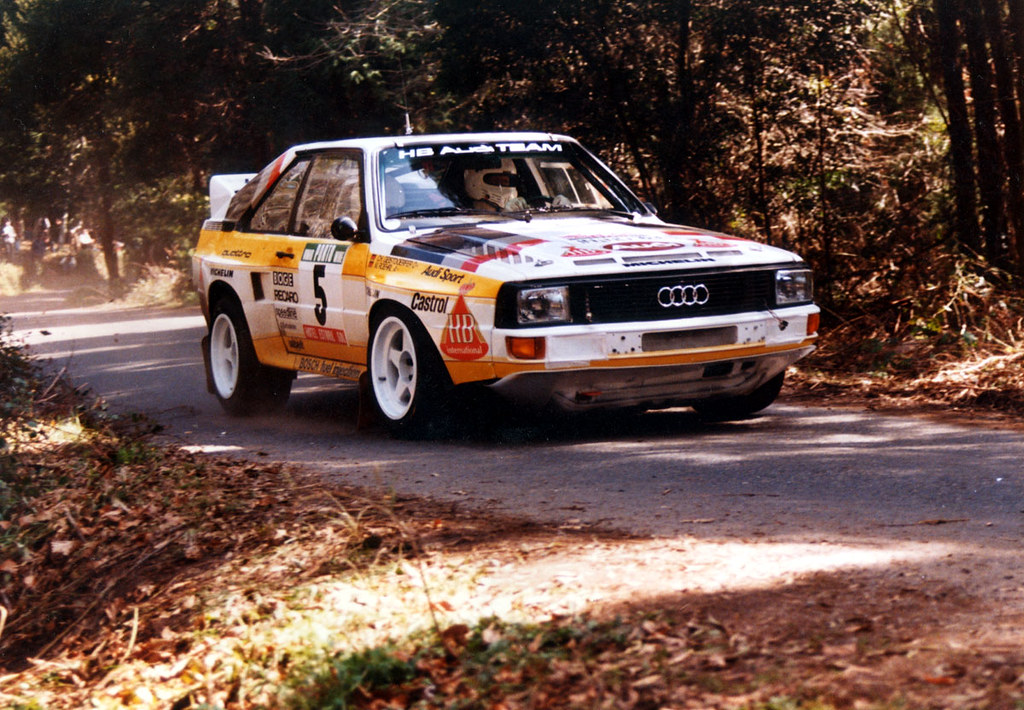 Audi Sport Quattro Of Walter Rohrl At Rally Portugal Flickr - Walter audi