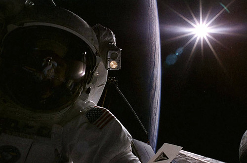 sun astronaut