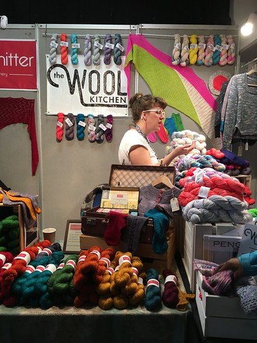 Edinburgh Yarn Festival 2017 - read all about my time on my blog evinok.com