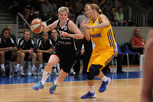 FIBA EM Damen Qualifikation - Ukraine vs Deutschland | by Deutscher Basketball Bund (DBB)