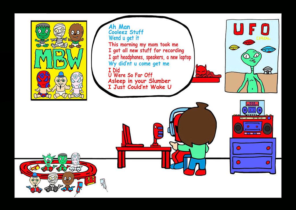 Pg 11 B-Pop Mason Valentine Comic Strip Story # 2 Super Pe…   Flickr