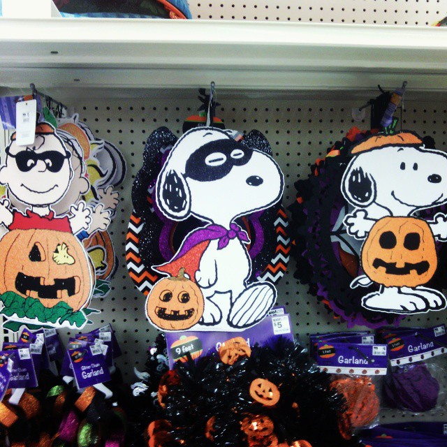 Halloween At Big Lots Snoopy Charliebrown Peanuts Finds Collectpeanuts