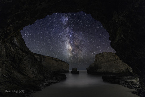 Tunnel Vision at Shark Fin Cove | by TierraCosmos