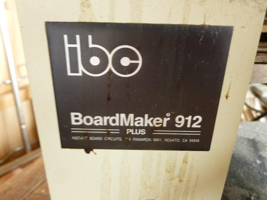 Circuit board maker | IBC BoardMaker 912 - circuit board mak ...