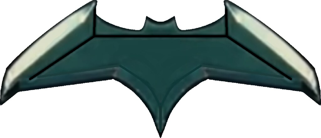 batarang template this is the model bruce wayne uses to te flickr
