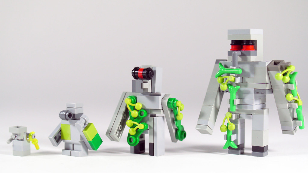 Lego Minecraft Iron Golem See How To Build It Youtube Flickr