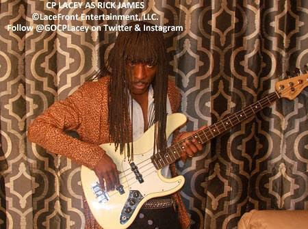 CP Lacey as Rick James | by The CP Lacey Show