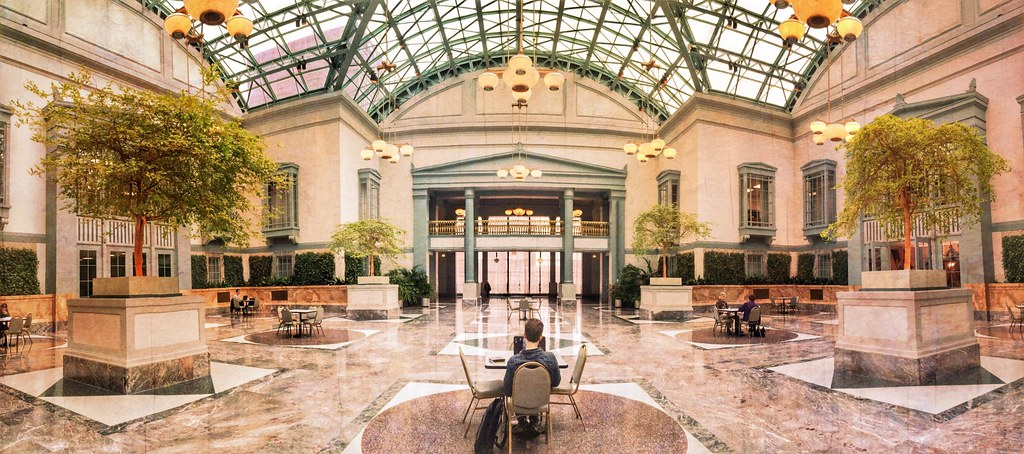 Image result for winter garden harold washington library