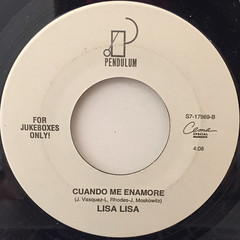 LISA LISA:WHEN I FELL IN LOVE(LABEL SIDE-B)