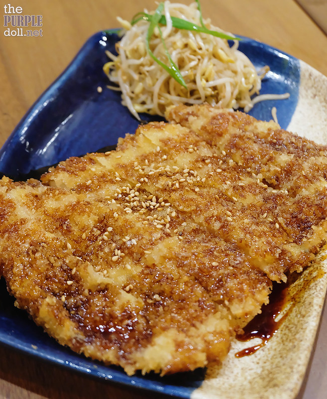 Crispy Fish Teriyaki (P129)