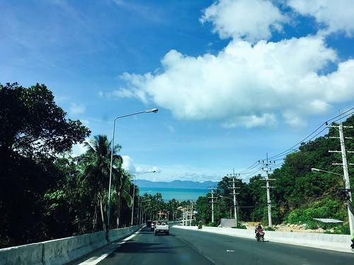 今日のサムイ島 4月10日 ナトンの坂、拡張工事終了