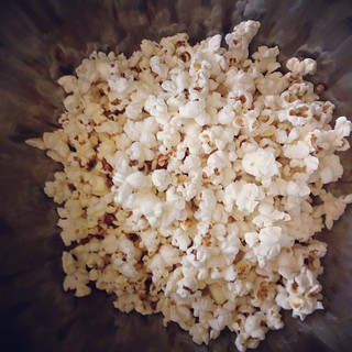 Finally got around to making coconut oil popcorn. It is easy and tasty! Now what toppings should I add? | by girlrobot