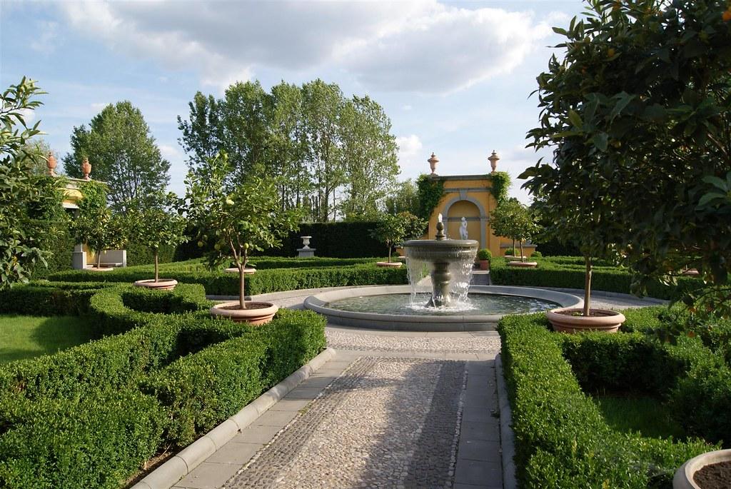 Italienischer Renaissance Garten