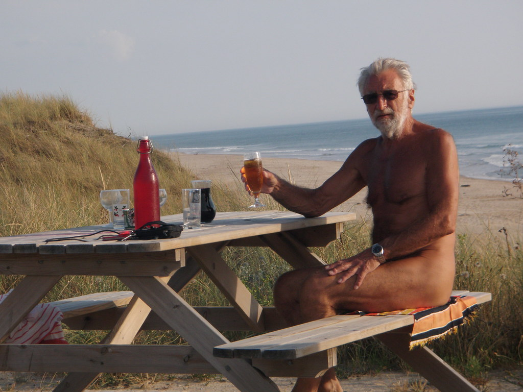 Naked old french men