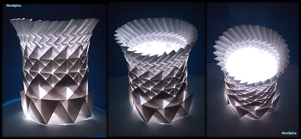 Cylinder With Fractals Folding