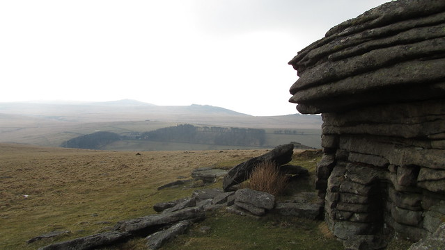 view from Lower Tor