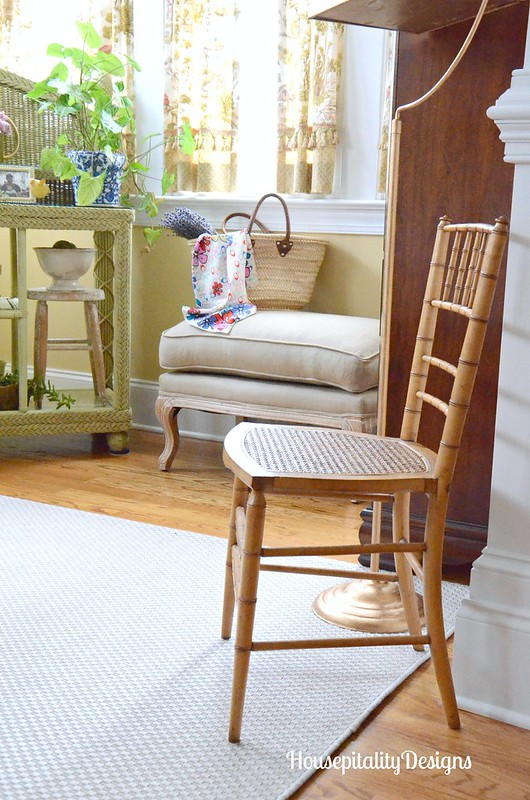 Sunroom-Cane and Bamboo Chair-Housepitality Designs