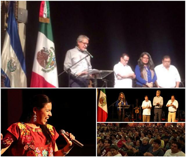 Participación de María Inés Ochoa en Concierto de la Paz