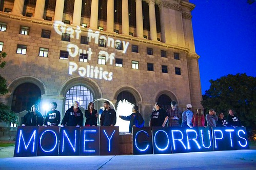 Move to Amend Citizens United | by Overpass Light Brigade