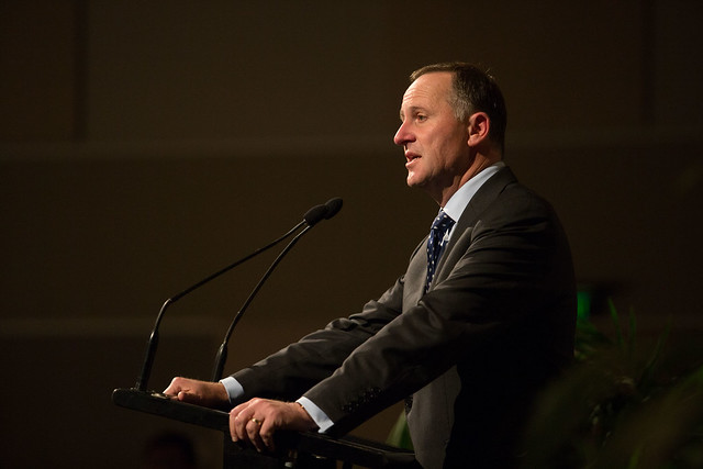 John Key at the ICSU General Assembly opening ceremony