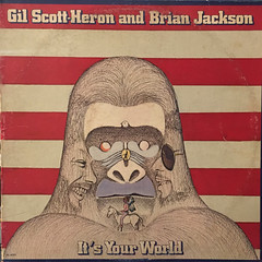 GIL SCOTT-HERON AND BRIAN JACKSON:IT'S YOUR WORLD(JACKET A)