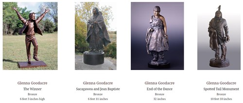 Glenna Goodacre sculptures