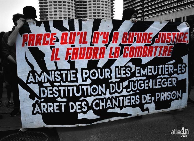 [11 Mars 2017] – Un jour, une photo… Nouvelle manifestation contre les violences policières