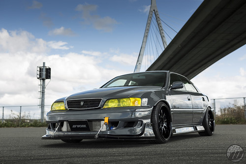 Car Factory M2 Toyota Chaser Jzx100 On Work Emotion D9r