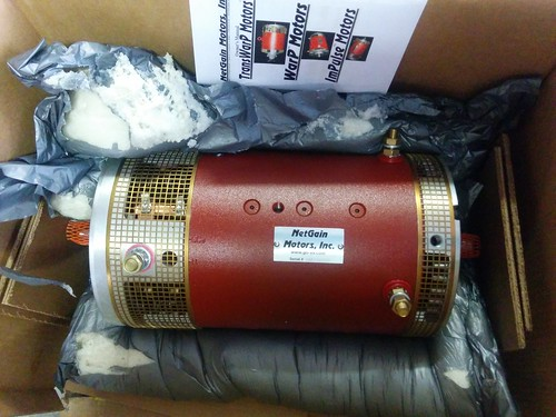 Electric Motor For The Truck This Is The Electric