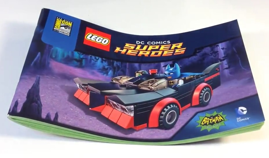 lego batman instructions for the batmobile