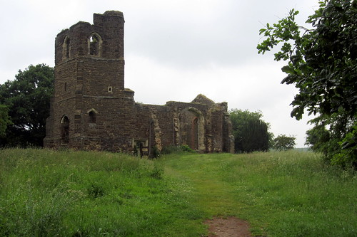 The old church of St Mary