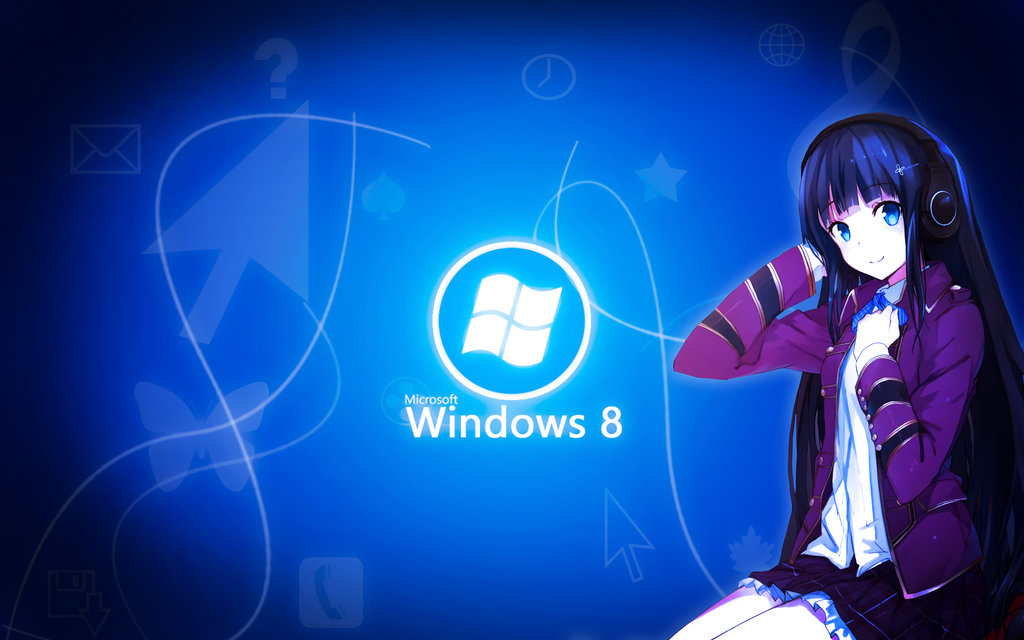 Windows 8 Anime Wallpaper