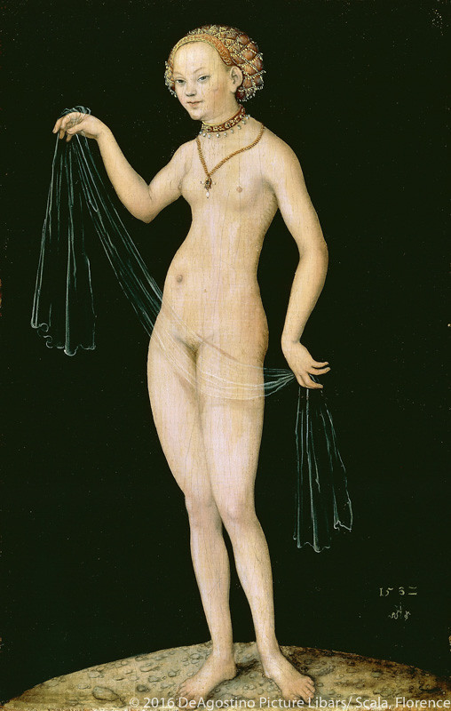 《ヴィーナス》(1532年、シュテーデル美術館蔵)