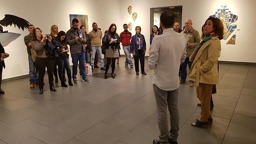 Inauguración de exposiciones de Iván Lagares y la Asociación Gaditana de Amigos de la Naturaleza en el Centro Cultural La Almona
