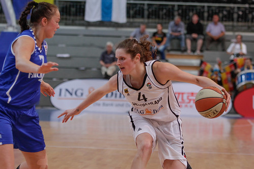 FIBA EM Damen Qualifikation - Deutschland vs Finnland | by Deutscher Basketball Bund (DBB)