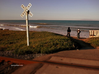 Ocean-View Railroad Crossing | by GeorgeAlger.com