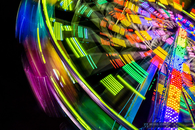 2014-08-21 Vancouver Playland Long Exposures Westcoast Wheel-14