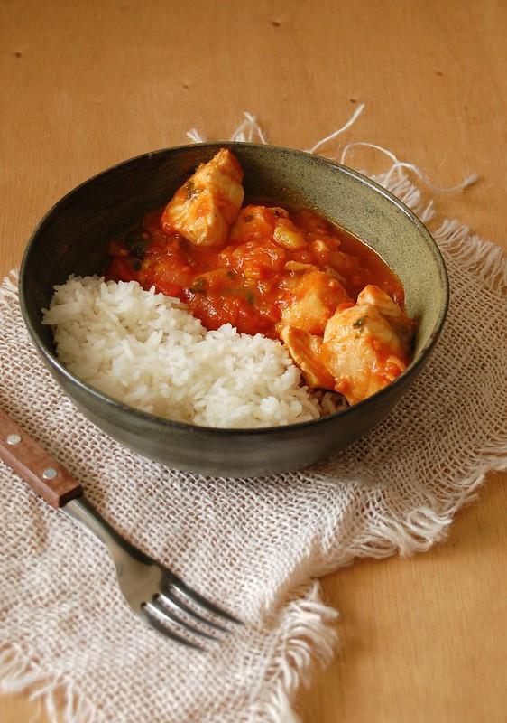 Easy fish stew / Ensopado de peixe fácil, fácil