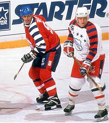 Gretzky Leetch 1992