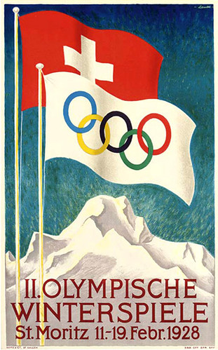 1928 Olympic poster
