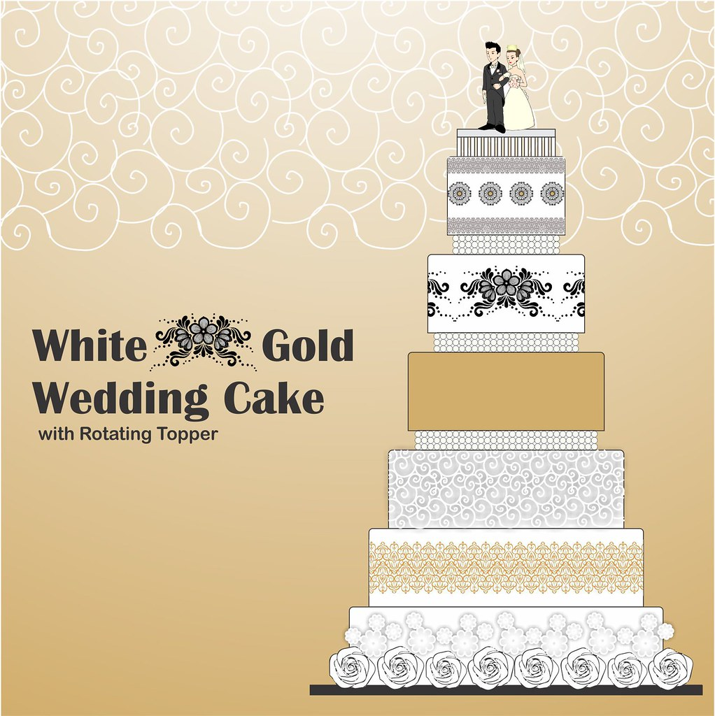 Wedding cake design for 20th Sep\'14 | To order this piece of… | Flickr
