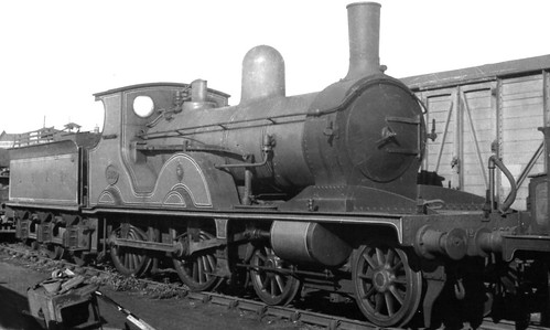 """New E Class >> LSWR. Adams """"T3"""" Class 4-4-0 No. 563. 