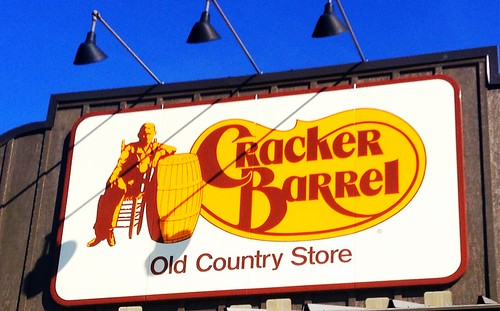 Cracker Barrel, 10/2014 by Mike Mozart of TheToyChannel and JeepersMedia on YouTube #Cracker #Barrel